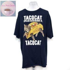 Delta Pro Weight Tacocat Blue Graphic T-Shirt